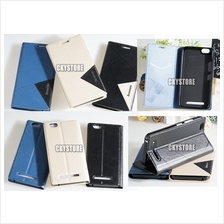 LENOVO Vibe C A2020 Standable Wallet Flip Case with Pocket
