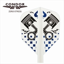 CONDOR Flight ZERO STRESS - PISTON [CLEAR]- SIZE L [SHAPE]
