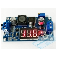 XL6009 Step-up DC-DC Boost Converter with Onboard Voltmeter