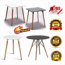 Gift + 3 Design Eames Design Round Square Dining Coffee Office Table)