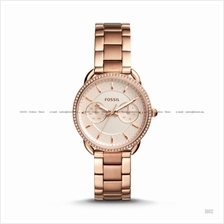 FOSSIL ES4264 Women's Tailor Multifunction Glitz SS Bracelet Rose Gold