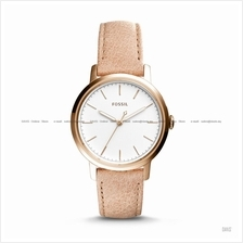 FOSSIL ES4185 Women's Neely 3-hand Leather Strap Sand