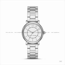 MARC BY MARC JACOBS MJ3525 Classic 3-hand SS Bracelet White