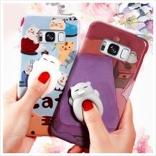 iphone 5 5S SE 6 6S 7 8 PLUS X Cute 3D Cartoon Squishy Soft Toy case