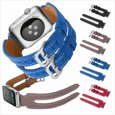 Apple Watch 38mm 42mm Samsung Gear S3 Frontier Classic Double Strap