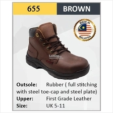 Hercules Safety Shoes Cow Leather ESD Shoes Boot SKU-655