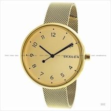 SKAGEN SKW2625 Women Signatur Oversized Interchange Mesh Bracelet Gold
