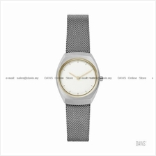 SKAGEN SKW2654 Women's Asta 2-hand Interchange Mesh SS Bracelet White