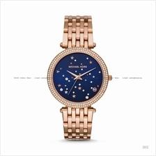 MICHAEL KORS MK3728 Darci 3-hand Celestial Stars Bracelet Rose Gold