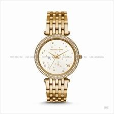 MICHAEL KORS MK3727 Darci 3-hand Glitz Celestial Stars Bracelet Gold
