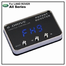 LAND ROVER All Series POTENT BOOSTER 6-Drive Throttle Remapper