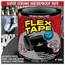 Flex Tape Strong Rubberized Waterproof Tape Grip on Tight Super Strong