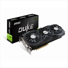 # MSI GeForce GTX 1080 Ti DUKE OC # 1645 MHz | 11G/D5X