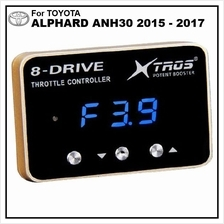 TOYOTA ALPHARD ANH30 2015-17 POTENT BOOSTER 8-Drive Throttle Remapper