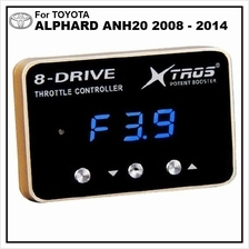 TOYOTA ALPHARD ANH20 2008-14 POTENT BOOSTER 8-Drive Throttle Remapper