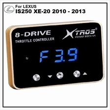 LEXUS IS250 XE-20 2010 - 2013 POTENT BOOSTER 8-Drive Throttle Remapper