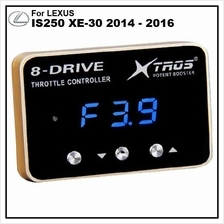 LEXUS IS250 XE-30 2014 - 2016 POTENT BOOSTER 8-Drive Throttle Remapper