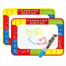 Kids Magic Pen Water Drawing Writing Mat Magic Pen