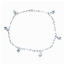 Elfi 925 Genuine Solid Silver Tinkerbell Anklet SA-3M