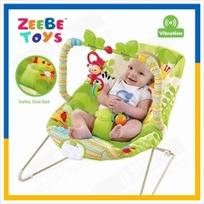 ZEEBE Baby Rocker Bouncer New Born Toddler Music Chair Rain Forest