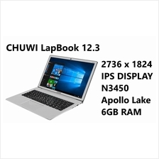 Chuwi LAPBOOK 12.3 2.2ghz intel quad 6GB 64GBSSD 2K notebook laptop PC