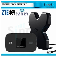 (+Antenna) ZTE MF971V 4G 300mbps CAT 6 MIFI Powerful Fast Worldband