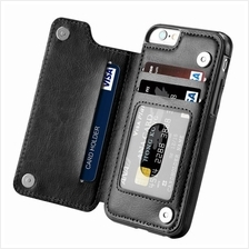 iphone X 5 5S SE 6 6S 7 8 PLUS Wallet Flip Left Back leather case