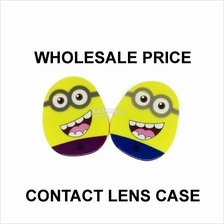 Minion Contact Lens Case with Mirror (Random Color)