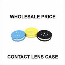 Biscuit Contact Lens Case with Mirror (Random Color)