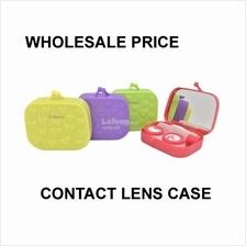 Small Bag Contact Lens Case with Mirror (Random Color)