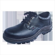 Safety Shoes Black Hammer Men Low Cut Lace Up Black BH2331
