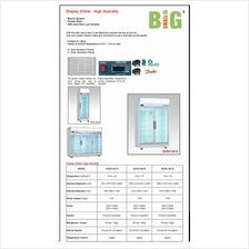 Berjaya 3 Door Display Chiller High Humidity Heated Glass 3D DC HH S