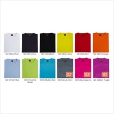 T Shirt Round Neck Microfibre Plain Assorted Color Unisex QD04XX