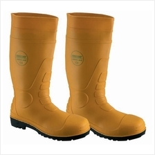 Safety Wellington Boots Yellow WP ST R219STC Delivery Inclusive No GST