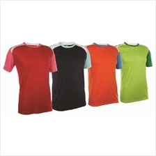 T Shirt Round Neck 100% Polyester Interlock Mix Unisex QD38XX