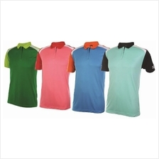 T Shirt Collar 100% Polyester Interlock Mix Unisex QD39XX