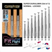 Cosmo Fit Shaft- Super Duralumin - Normal Locked Dart Shafts