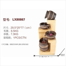 WATER FOUNTAIN  LX80867 FENG SHUI HOME DECORATION FEATURE GIFT