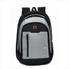 Cross L4568 Double Straps Laptop Backpack- Silver Grey