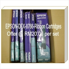 DFX 8766 Epson ribbon cartridges