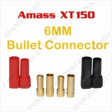 AMASS XT150 6MM 6 MM Male Female Banana Gold Bullet Connector Plug