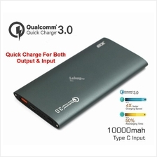 Quick Charge 3.0 JRD 10000mah Li-Polymer Qualcomm Type-C Power Bank