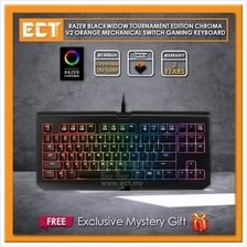 Razer Blackwidow Tournament Chroma V2 Mechanical Keyboard(Razer Orange Switch,