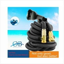 15 Meter Expandable Garden Water Hose with 8 ways High-Pressure Nozzle