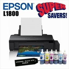 Epson L1800 A3 Photo Ink Tank Printer With Anti UV Ink