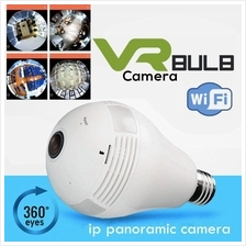 VR Bulb Cam VR 360 Wifi Panoramic Surveillance IP Security Camera CCTV