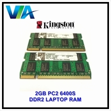 Laptop DDR2 Ram 2GB 6400S 800MHz