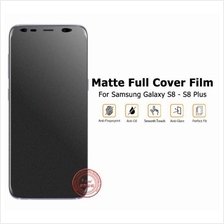 SAMSUNG NOTE 8 S7 Edge S8 Plus FULL Matte NANO TPU Screen Protector
