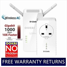 D-link AC1200 AV1000 Wireless Powerline Extender Gigabit DHP-W611AV