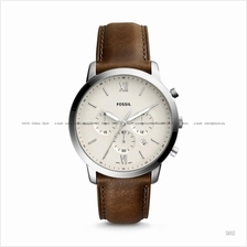 FOSSIL FS5380 Men's Neutra Chronograph Leather Strap Cream Brown